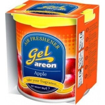Osvěžovač vzduchu Areon Gel Can APPLE 80 g