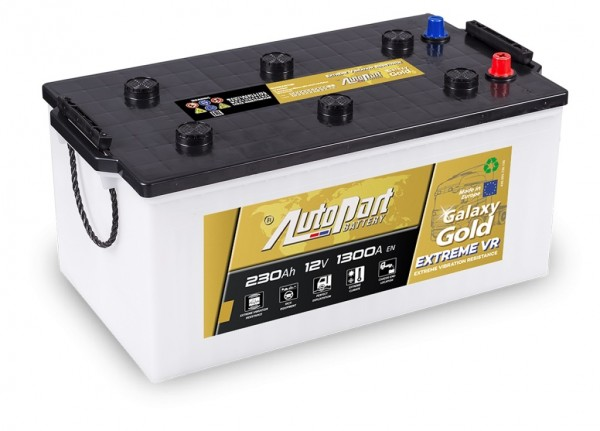 Autobaterie Galaxy Gold Extreme VR 12V 230Ah/1300A