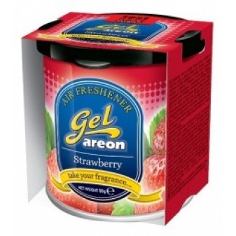 Osvěžovač vzduchu Areon Gel Can STRAWBERRY 80 g